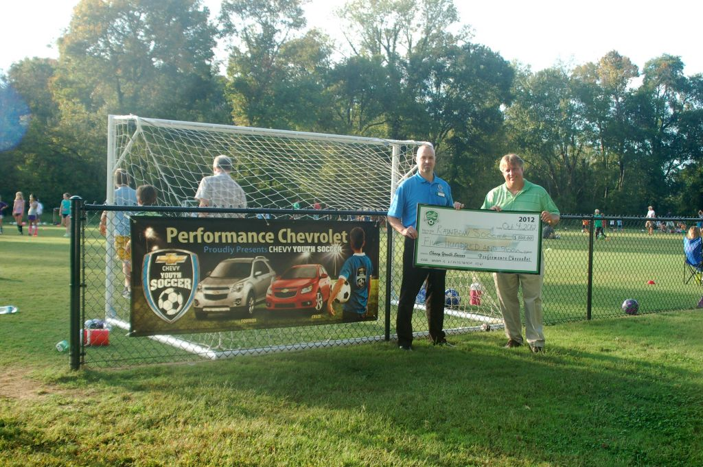 Chevrolet and Performance Automall supports Rainbow Soccer