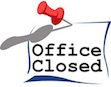 Office Closed Monday June 3